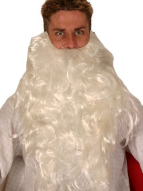 Hair Beard Santa 50cm 160 Grams (Large) Christmas Festive Seasonal Holidays